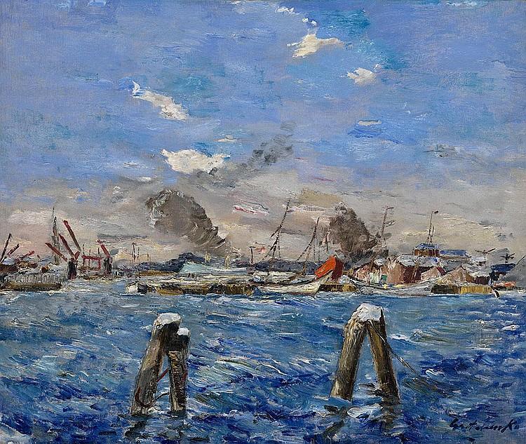 GRISHENKO, ALEXEI 1883-1977 Port de Gotenburg