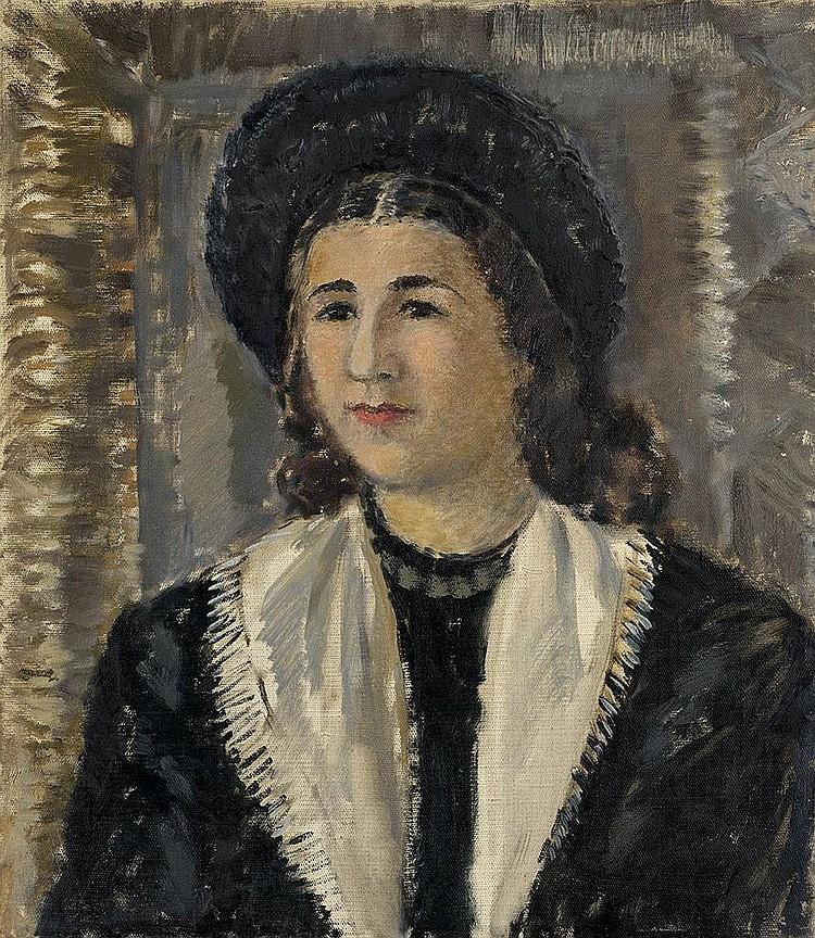 SOFRONOVA, ANTONINA 1892-1966 Female Portrait in