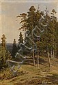 SHISHKIN, IVAN (1832-1898) The Pine Forest,, Ivan Shishkin, Click for value