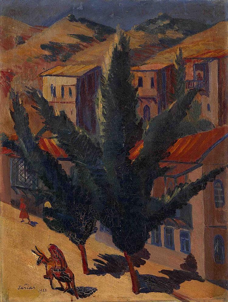 * SARYAN, MARTIROS (1880-1972) Rue d'une ville caucasienne (Tiflis),