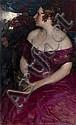 ARKHIPOV, ABRAM (1862-1930) Female Portrait,, Abram Arkhipov, Click for value