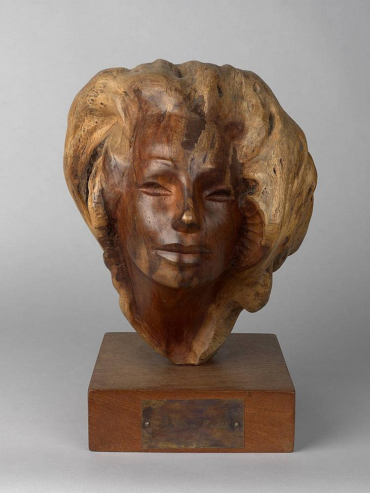 * ERZIA, STEPHAN (1876-1959) Female Head,