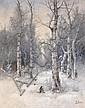 ROSEN, KARL (1864-1934) Winter Landscape,, Karl Rosen, Click for value