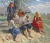 BOGDANOV-BELSKY, NIKOLAI (1868-1945)  A Spring Recital, Nikolaj Petrovič Bogdanov-Bel'skij, £30,000