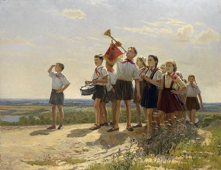 BELYAEV, NIKOLAY (1916-2000) They Are Happy