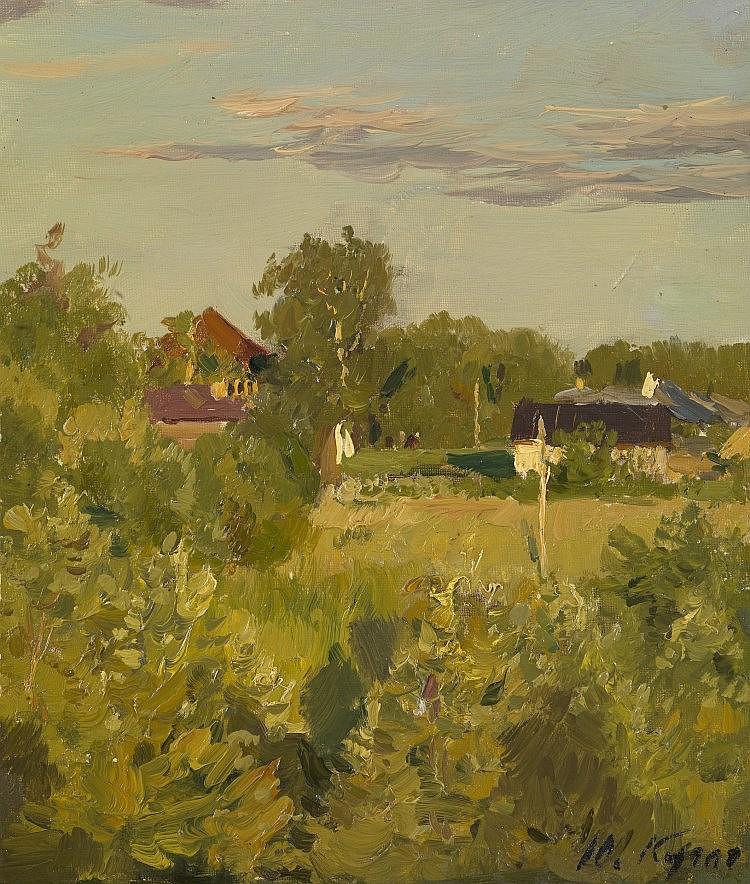 * KUGACH, YURIY (1917-2013) Evening Sun