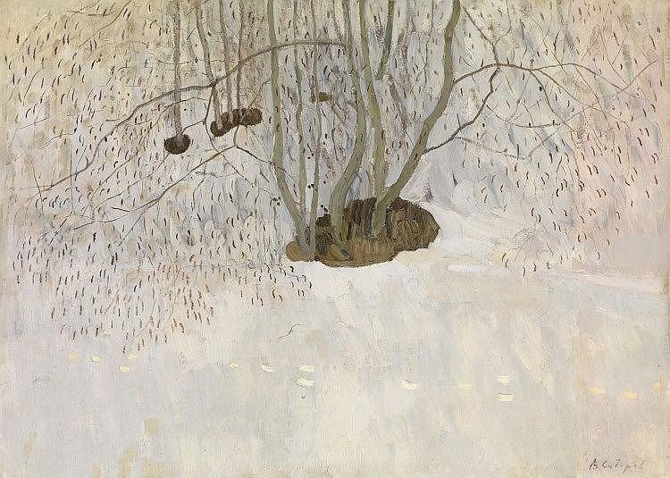 * SIDOROV, VALENTIN (B. 1928) First Thaw