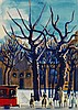 AREFIEV, ALEXANDR (1931-1978) Tram Stop in Peterhof,  AREFIEV, Click for value