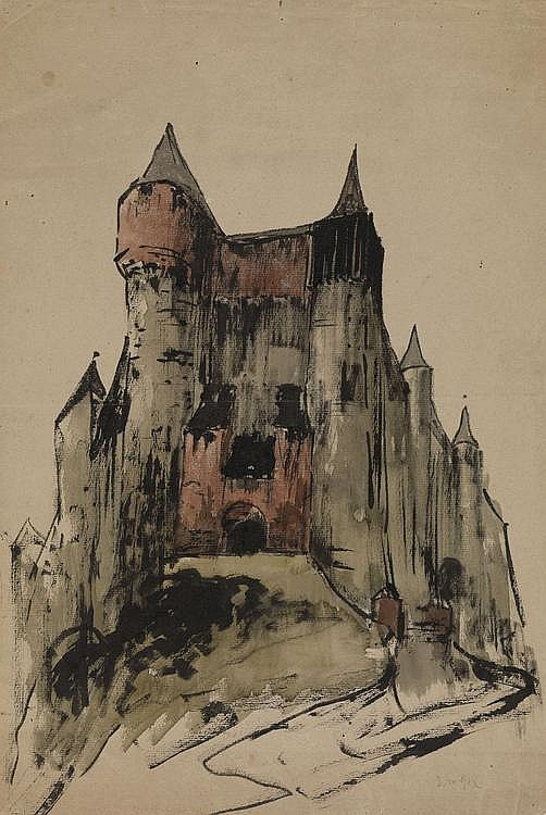 NOAKOVSKI, STANISLAV 1867-1928 Castle