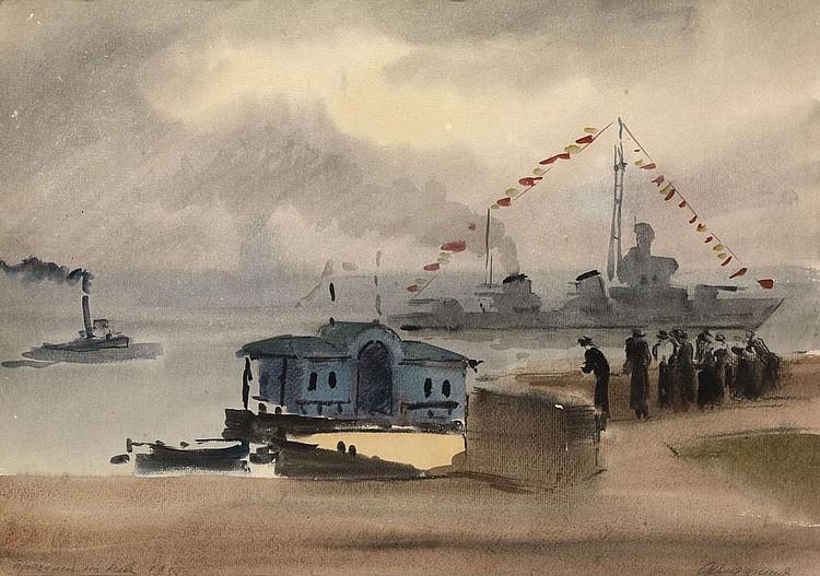 VEDERNIKOV, ALEXANDER 1898-1975 Festival on the Neva