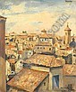 MILIOTI, NIKOLAI 1874-1962 Toledo signed, titled, Nikolay Milioti, Click for value