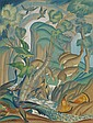 LATRI, MIKHAIL 1875-1942 An Exotic Forest signed., Mikhail Lattry, Click for value