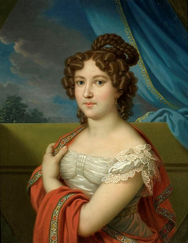 LAMPI, JOHANN BAPTIST 1775-1837 Female Portrait