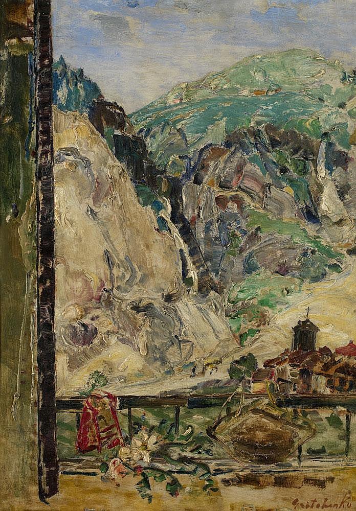 GRISHENKO, ALEXEI 1883-1977 Mountain Landscape