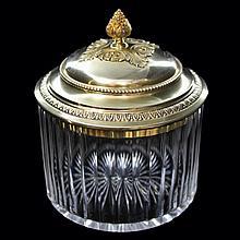 French Vanity Jar