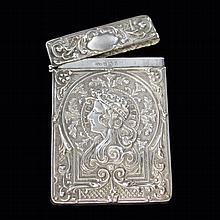 Crisford and Norris Repousse Card Case