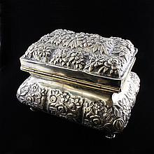 Russian Repousse Vanity Box