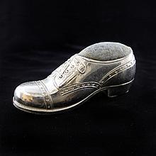 Vintage Shoe Pin Cushion