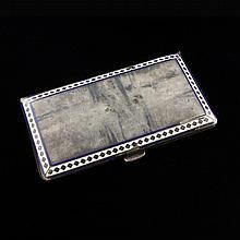 Guilloche Cigarette Case