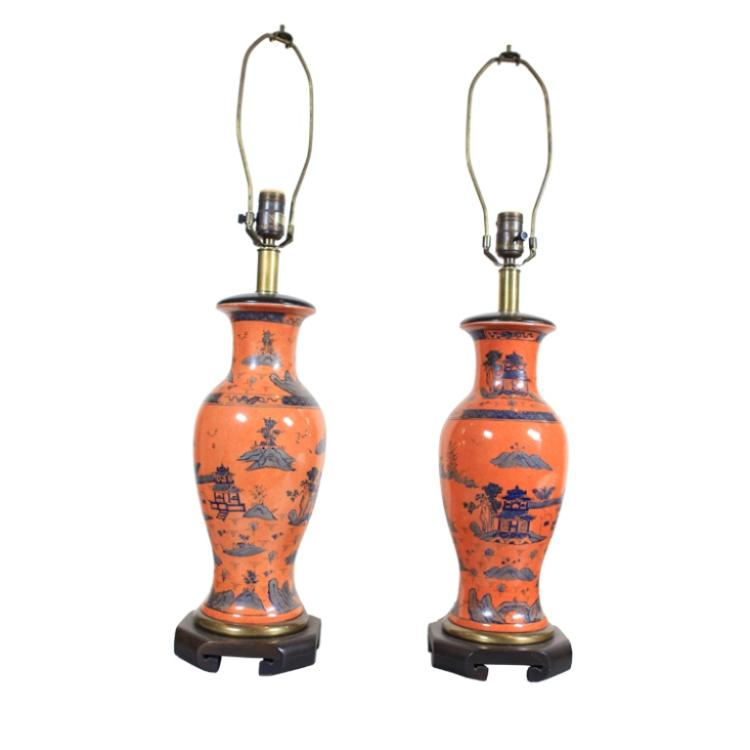 Asian Ceramic Lamps 74