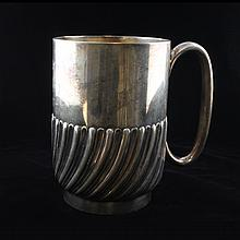 Roberts & Belk Silver Plate Mug