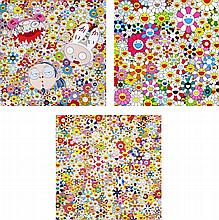 Takashi Murakami, Kaikai Kiki And Me - The Shocking Truth Revealed!/ Maiden In The Yellow Straw Hat/ Open Your Hands Wide, Embrace Happiness!
