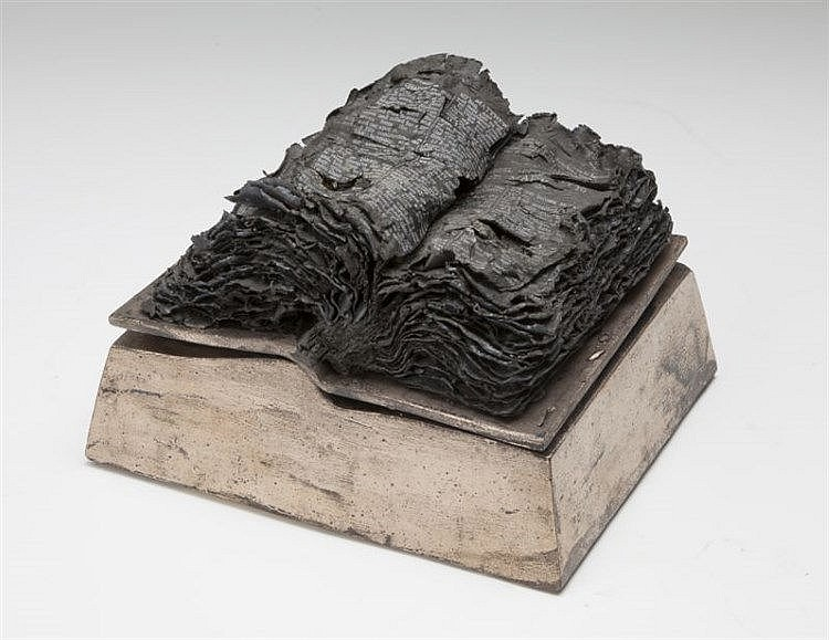 Takako Araki, Burnt Bible,from 'Bible Series'
