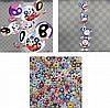 Takashi Murakami, This World and the World Beyond/ DOB totem pole/ Flowers with Smiley Faces, Takashi Murakami, ¥0