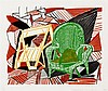 David Hockney, Two Pembroke Studio Chairs, from the 'Moving Focus' Series, Museum of Contemporary Art Tokyo 264/ Tyler 276, David Hockney, ¥0