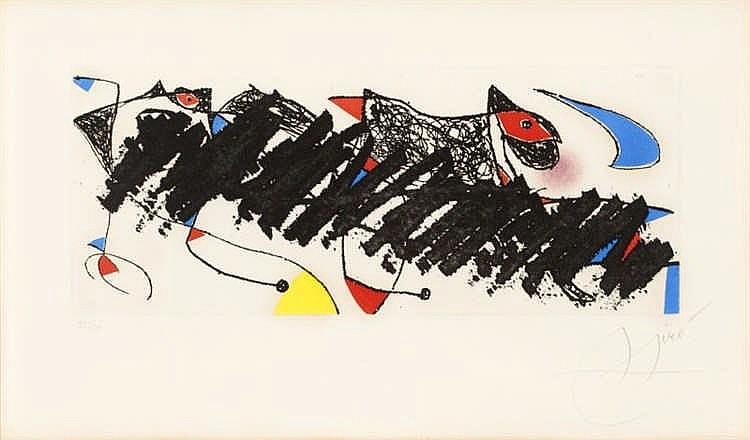 Joan Miró, Par Dessus La haie (Dupin 735)