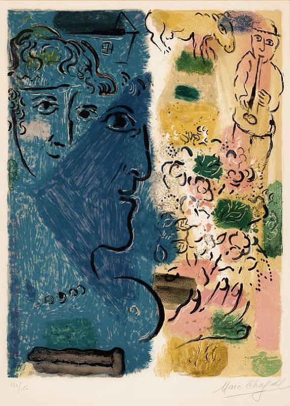 Marc Chagall, Exhibition Poster (Mourlot 476 )