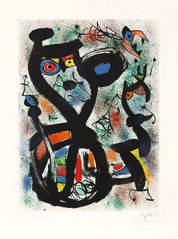 Joan Miró, Le Chat (Maeght 636)