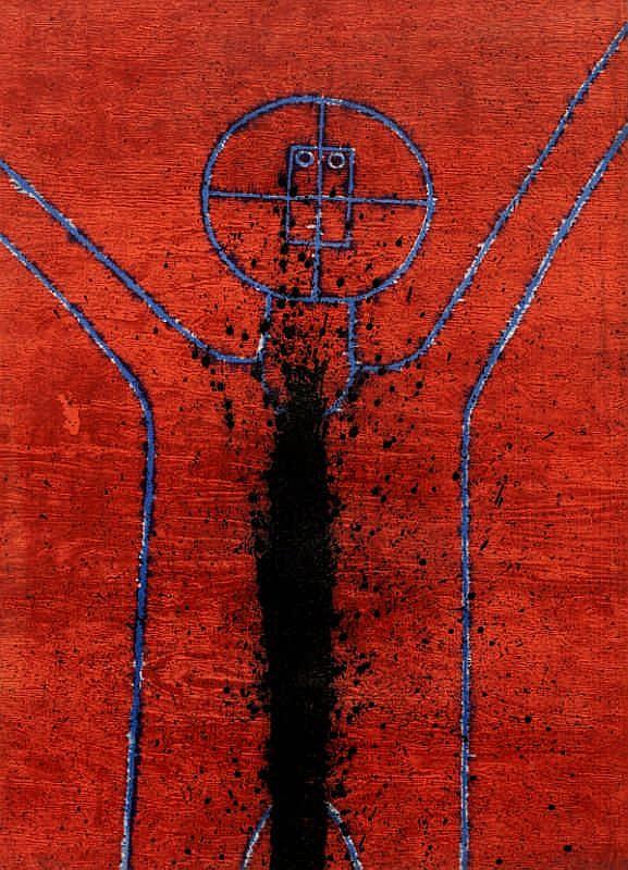 Rufino Tamayo, Cosmic Ecstasy (Pereda 166)