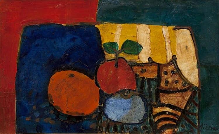 Paul Aizpiri, Nature morte aux fruits