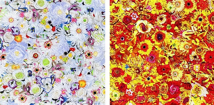 Tetsutaro Kamatani, Proliferation-Flower-White and Proliferation-Flower-Yellow