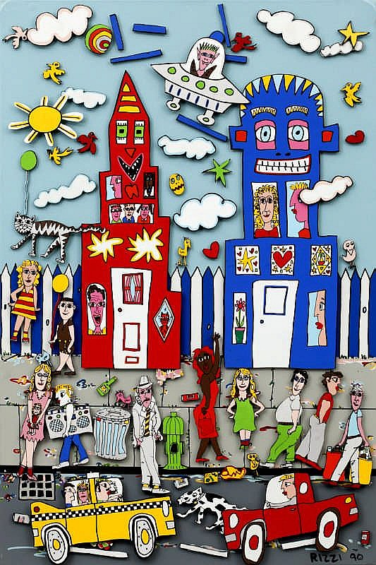 James Rizzi, Movin' On
