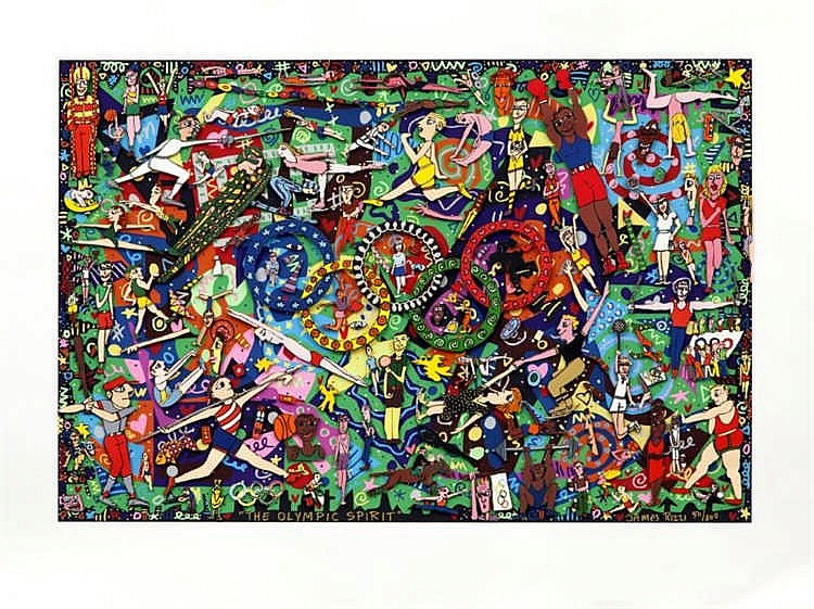 James Rizzi, THE OLYMPIC SPIRIT
