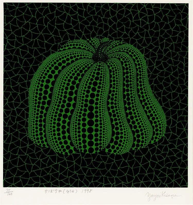 Yayoi Kusama, Pumpkin(GSQ) (Abe 243)