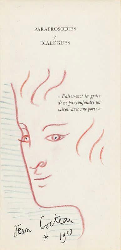 Jean Cocteau, Profile 1958