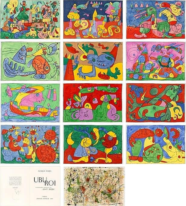 Joan Miró, Alfred Jarry, Ubu roi (Maeght 460-98/ Cramer Books 107)