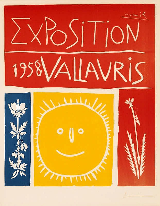 Pablo Picasso, Exposition 1958 Vallauris (Bloch 1284/ Baer 1050)