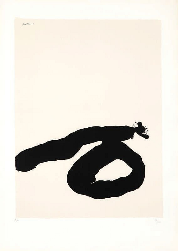 Robert Motherwell, Africa 7, from 'Africa Suite' (Belknap 46)