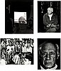 André Villers, four photographs of Picasso by Villers, Andre Villers, ¥0