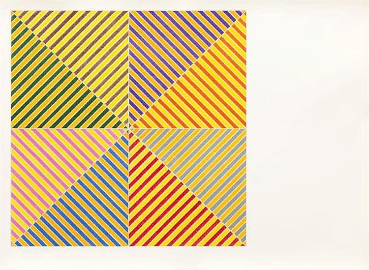 Frank Stella, Sidi Ifni from 'Hommage à Picasso' (Axsom 91 )