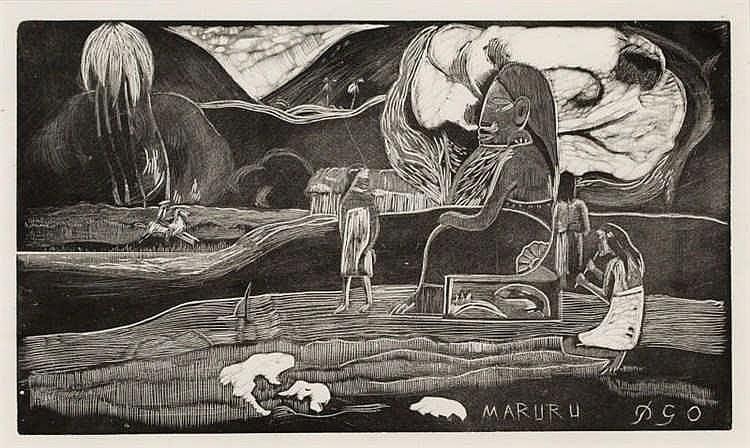 Paul Gauguin, Maruru (Offerings of Gratitude)