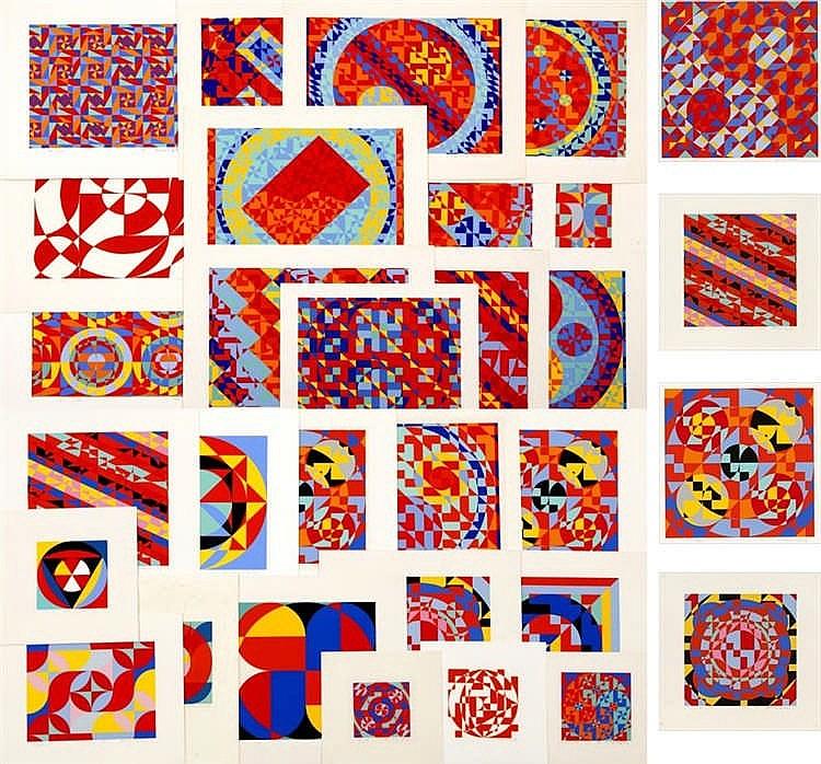 Toshinobu Onosato, thirty-one prints by Onosato