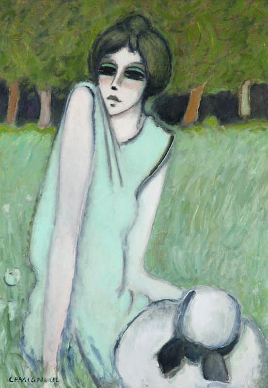 Jean-Pierre Cassigneul, Dans l'herbe