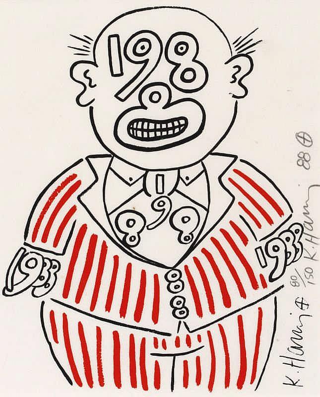 Keith Haring, Untitled (Littmann P.92)