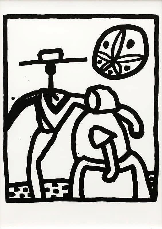 Keith Haring, Kutztown (Littman P.134)