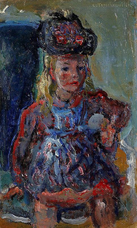 Constantin Terechkovitch, La petite fille en